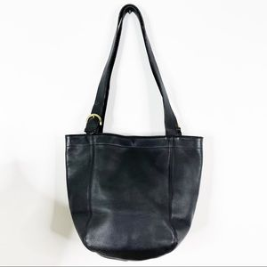 Coach Vintage Waverly Soho Hobo Tote Bag Black